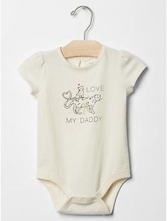 Love statement bodysuit | Gap