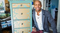Ken Wingard shows how you can use wallpaper to give your old dresser a brand new lease on life! Ken shows how you can add a pop of color or a beautiful patte...