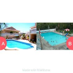 Private or Public Pool Tap to vote http://sms.wishbo.ne/U1ak/HhLJWidB2u