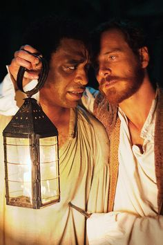 Chiwetel Ejiofer and Michael Fassbender in 12 Years A Slave