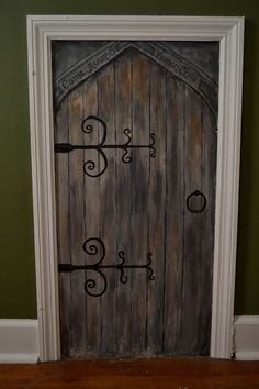 Faerie door painting.