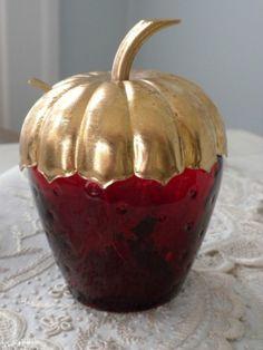 SOLD - Vintage Strawberry Jam Pot
