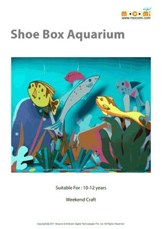 Aquarium Craft Aquarium And Craft Projects On Pinterest
