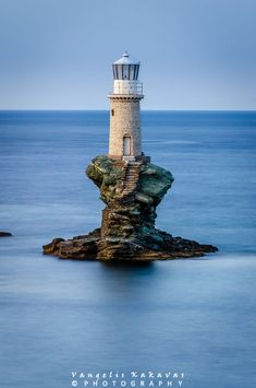 Lighthouse In Greece.