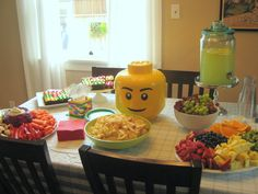 My nephew is officially five years old. What?! My sister and brother-in-law had a party this weekend for him with a lego theme. Super cut...