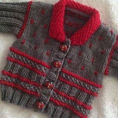 Winter Warmer baby jacket pattern by Mary Edwards - Ravelry Knitting Patterns by. : Winter Warmer baby jacket pattern by Mary Edwards – Ravelry Knitting Patterns by Indie Designers boy girl Baby Knitting Patterns, Crochet Baby Sweater Pattern, Crochet Baby Sweaters, Baby Boy Knitting, Cardigan Pattern, Jacket Pattern, Knitting For Kids, Baby Patterns, Free Knitting