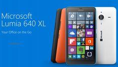 Microsoft Lumia 640 XL 5.8 inch. 13MP - 5 front camera