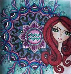 India Art, Whimsical Art, Female Art, Aquarius, Cute Art, Photo Art, Folk Art, Art Drawings, Artsy