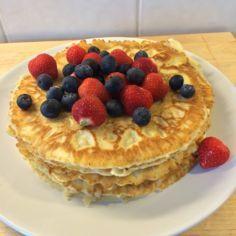 Letut - Kotikokki.net - reseptit Pancakes, Breakfast, Food, Morning Coffee, Essen, Pancake, Meals, Yemek, Eten