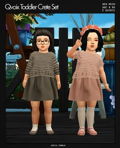 Toddler Crete Set for The Sims 4