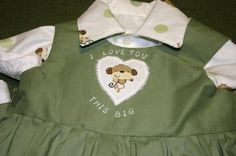 an outfit I made for my great nephew