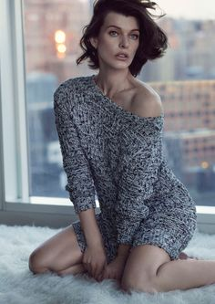 Milla Jovovich for Sisley Spring/Summer 2013 Campaign.