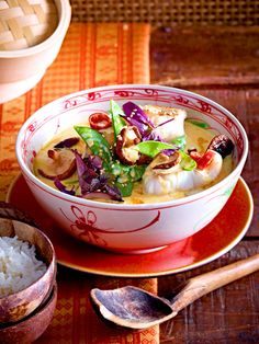 Wunderbar aromatisch: Fisch-Curry mit Reis
