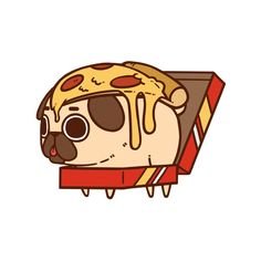 cute fat pug wallpaper animated - Google Search