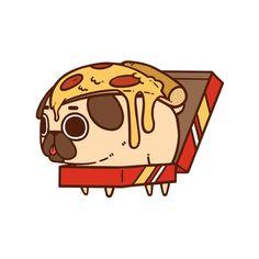 cute fat pug wallpaper animated - Google Search