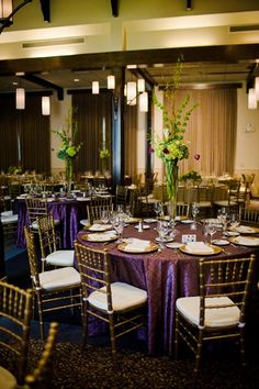 Mission Room decorated by John Gandy events.