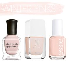 Polished // Winter Pinks