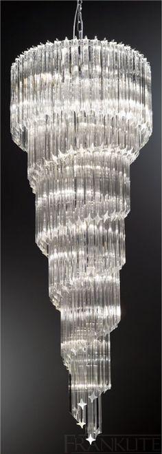 Zgear 12 Lights Luxury Modern Crystal Chandelier Pendant Ceiling Light for Room,