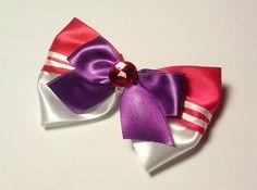 Sailor Mars Hair Bow  Sailor Moon by Malabows on Etsy, $4.00