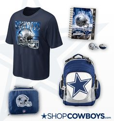 Check out this back to school Dallas Cowboys gear! aabcb65b3