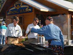 Alaska Salmon Bake - alaskan dining