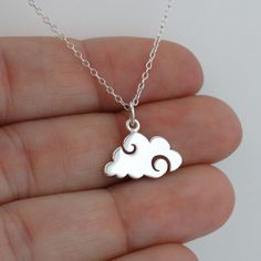 FashionJunkie4Life - Cloud Necklace - 925 Sterling Silver, $18.99 (http://www.fashionjunkie4life.com/cloud-necklace-925-sterling-silver/) #925SterlingSilver