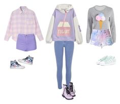 """Untitled #528"" by fangirlkaly8102 ❤ liked on Polyvore featuring Topshop, River Island, Vans and adidas Originals"