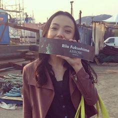 Yesterday was my last day on #Arrow Season 3! Thank you everyone! - Rila Fukushima