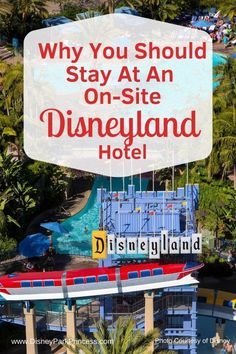 Disneyland offers many off-site and on-site hotel options for your vacation. Learn why we love the on-site Disneyland Hotels! Disneyland Resort Hotel, Disneyland Rides, Disneyland Secrets, Disneyland Vacation, Disneyland California, Disney Planning, Disney Tips, Disney Parks, Trip Planning
