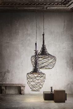 Проволока в интерьере: от декора до предметов мебели