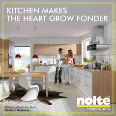 Superb Manhattan Kitchens An L shaped kitchen with a large capacity for easy storage