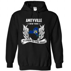 Amityville - #teacher gift #wedding gift. FASTER => https://www.sunfrog.com/LifeStyle/Amityville-7325-Black-Hoodie.html?68278