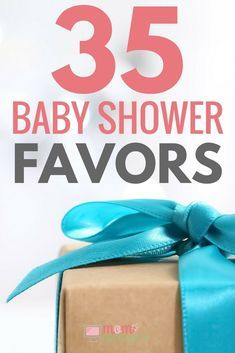 Looking for baby shower favors? Here are 35 baby shower favors your guests will LOVE to receive. There are baby shower favors for girls and for boys. There are unique and co-ed baby shower favors as well as neutral and inexpensive ideas. You'll be guaranteed to have the best baby shower with any of these baby shower favors.
