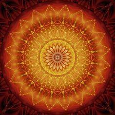 Christine Bässler: Mandala Energie 1