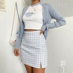 Outfits Casual, Style Casual, Simple Outfits, Outfits For Teens, Casual Dresses, Cool Outfits, Flannel Outfits, Casual Fall, Dress Outfits