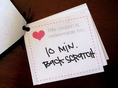 printable coupons.. always a clever, and low budget idea!