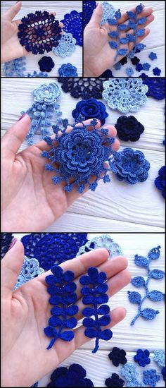 Awesome Crochet Projects With Free Patterns - Diy And Crafts Crochet Mat, Thread Crochet, Cute Crochet, Irish Crochet, Beautiful Crochet, Easy Crochet, Crochet Flower Patterns, Crochet Designs, Crochet Flowers