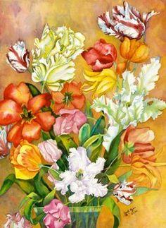 Carole Byers - Tulips small
