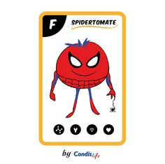 SPIDERTOMATE, Los #SúperAlimentos byCondislife