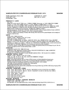 Image result for surgical notes sample sample medical chart image result for discharge summary maxwellsz