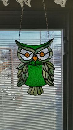 Owl for my favorite Uncle! #StainedGlassOwl