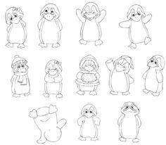 unterrichtsmaterial - Pinguin-Klasse - DesignBlog