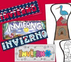 Recursos para maestros: Carteles de Invierno