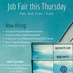 Calling all job seekers - let's talk Thursday!