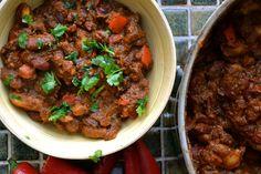 Chili sin carne, jerryn keittiössä