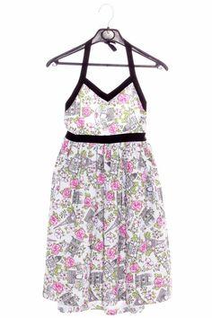 Estampados preciosos Vestido de nina de segunda mano 14,95€ Talla 10 años marca maggie zoe www.ropasion.com