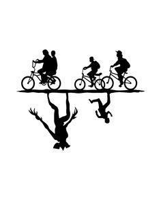 Resultado de imagen de stranger things silhouette