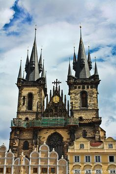 Prague, Czech Republic - I miss seeing this everyday. Prague is the most gorgeous city I have ever seen.