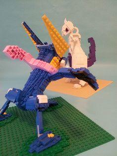 Lego Pokemon, Pokemon Cards, Interesting Photos, Cool Photos, Pokemon Fusion Art, Lego Display, Amazing Lego Creations, Lego Craft, Lego Models