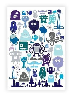 Great poster for a boy's room.